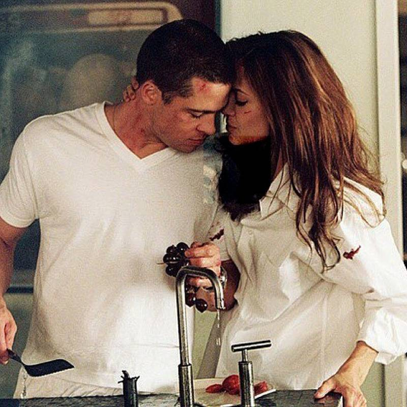 Instagram Brad Pitt y Angelina Jolie