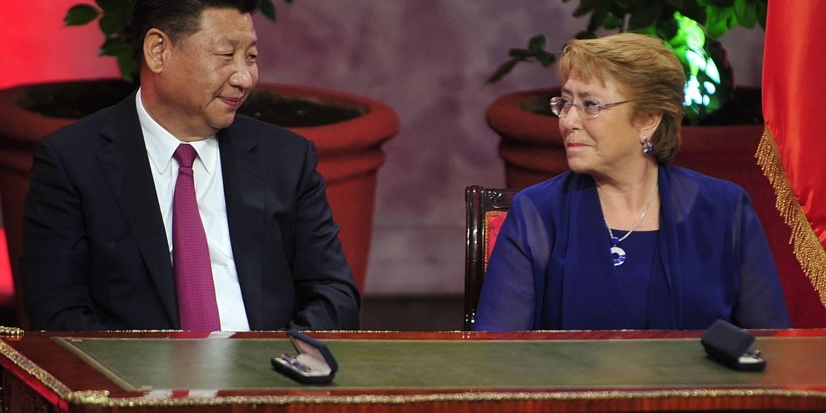 Bachelet firmó acuerdos comerciales con Presidente chino Xi Jinping