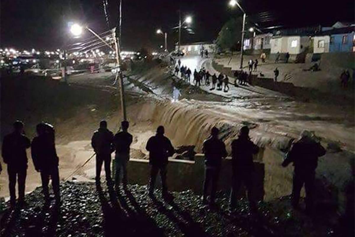 CHAÑARAL Desborde del Rio El Salado
