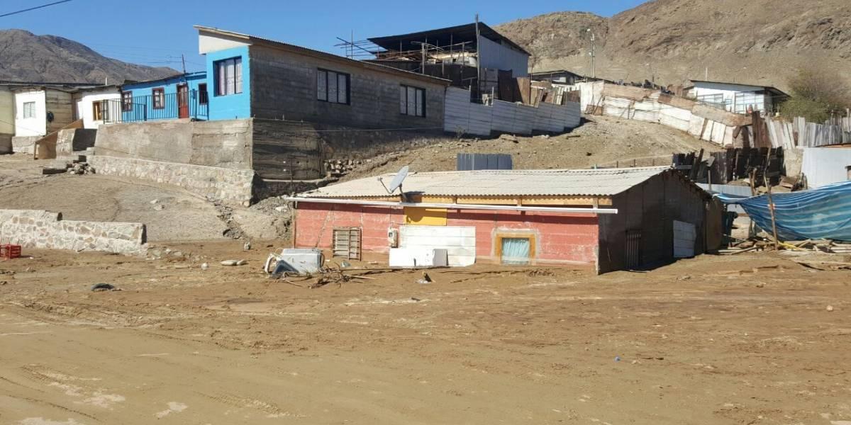 Gobierno decreta zona de catástrofe legal en Chañaral y Diego de Almagro