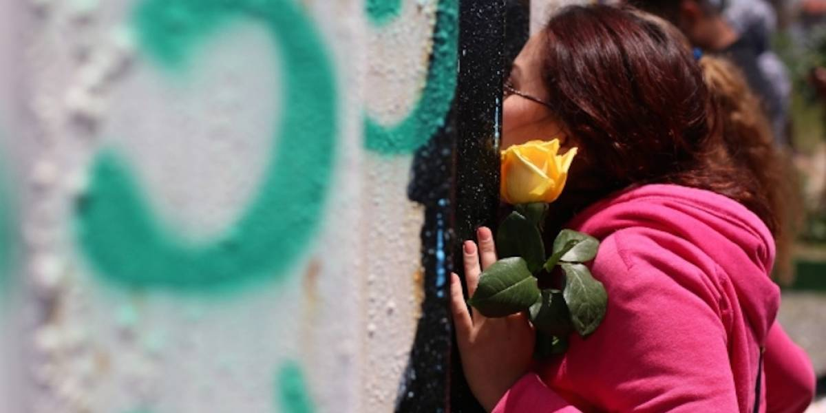 Familias se reencuentran para celebrar el Día de la Madres en la frontera México- EU