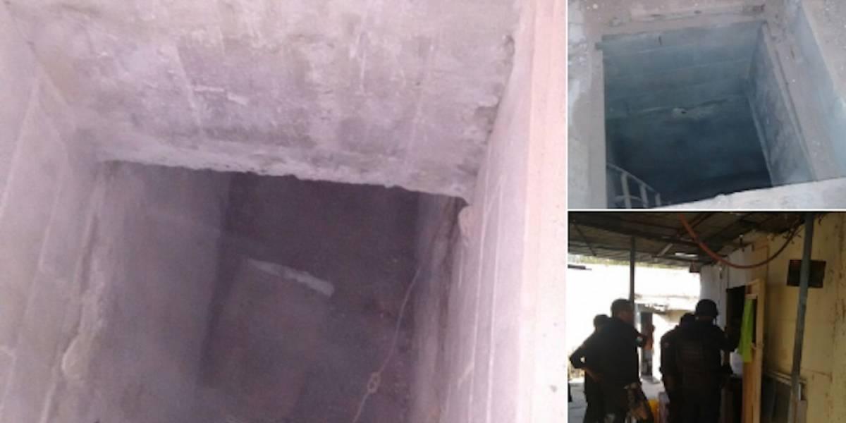 """Descubren túnel al estilo de """"El Chapo"""" hacia penal de Reynosa"""