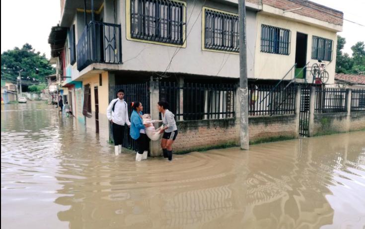 Declaran alerta roja en el Valle por desbordamiento del río Cauca