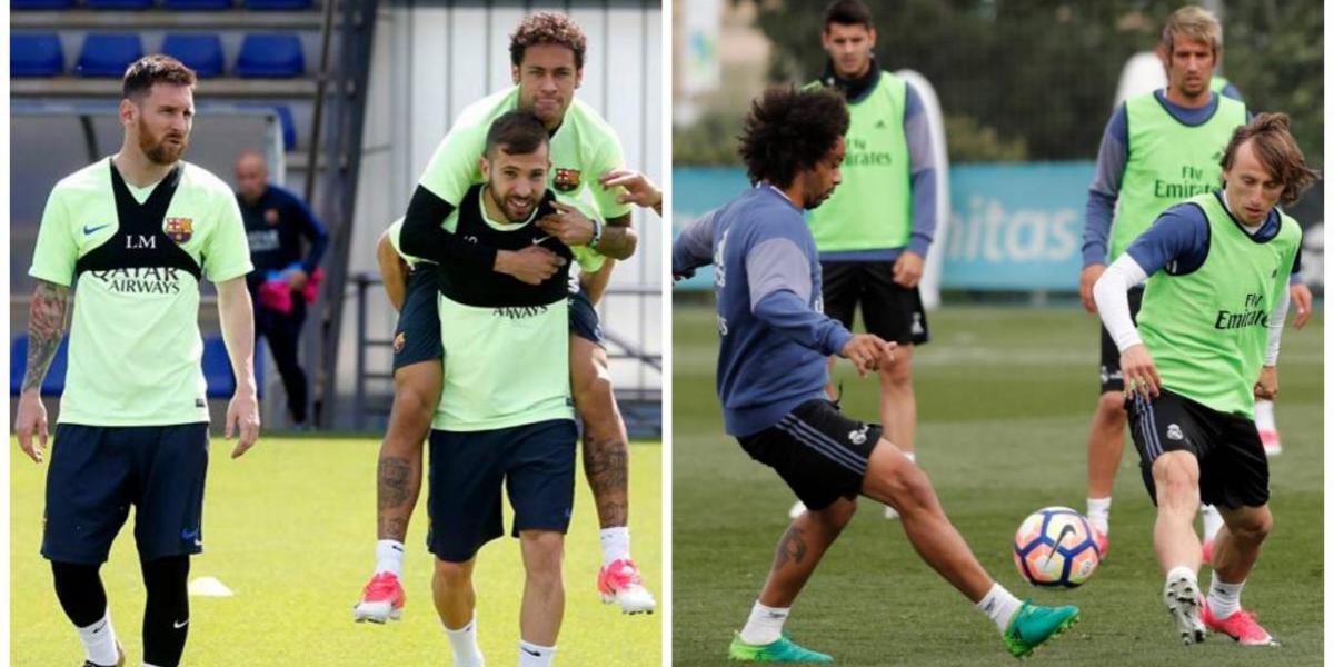 El Barça y el Real Madrid sostendrán juegos de alto voltaje