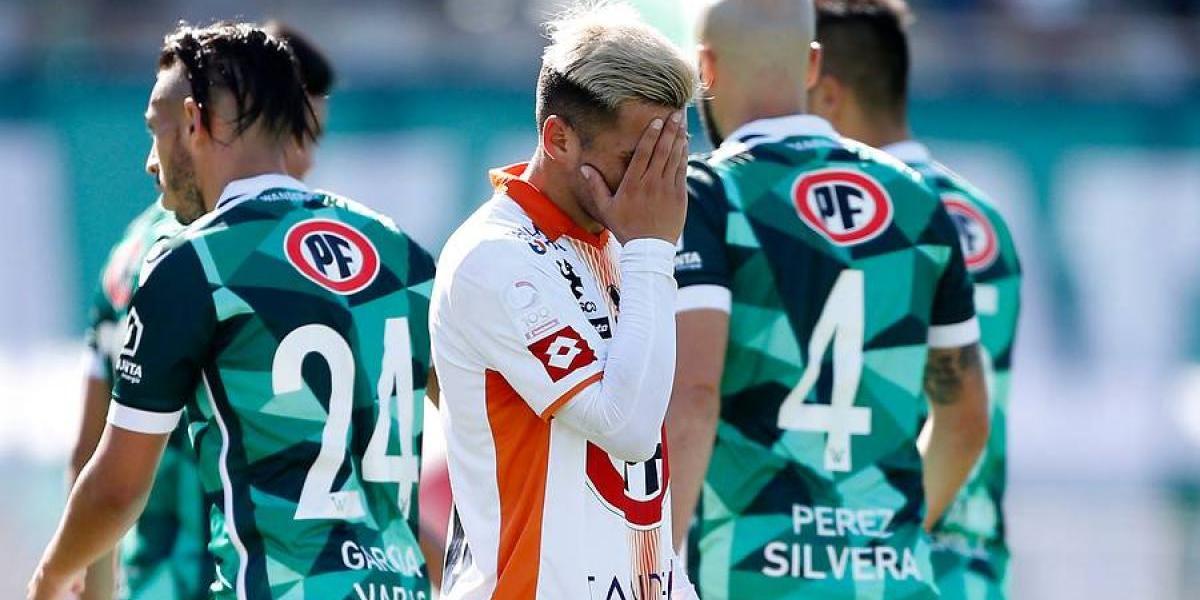 Un luchador Cobresal sentencia su descenso a la B tras igualar ante Santiago Wanderers