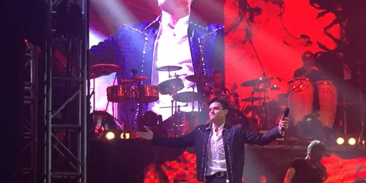 Así le celebraron el cumpleaños a Silvestre Dangond durante su concierto en Bogotá