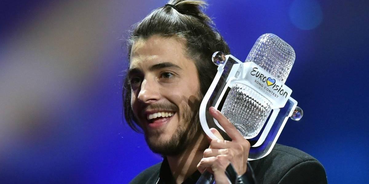"""Eurovisión 2017: Portugal gana con """"Amar Pelos Dois"""""""