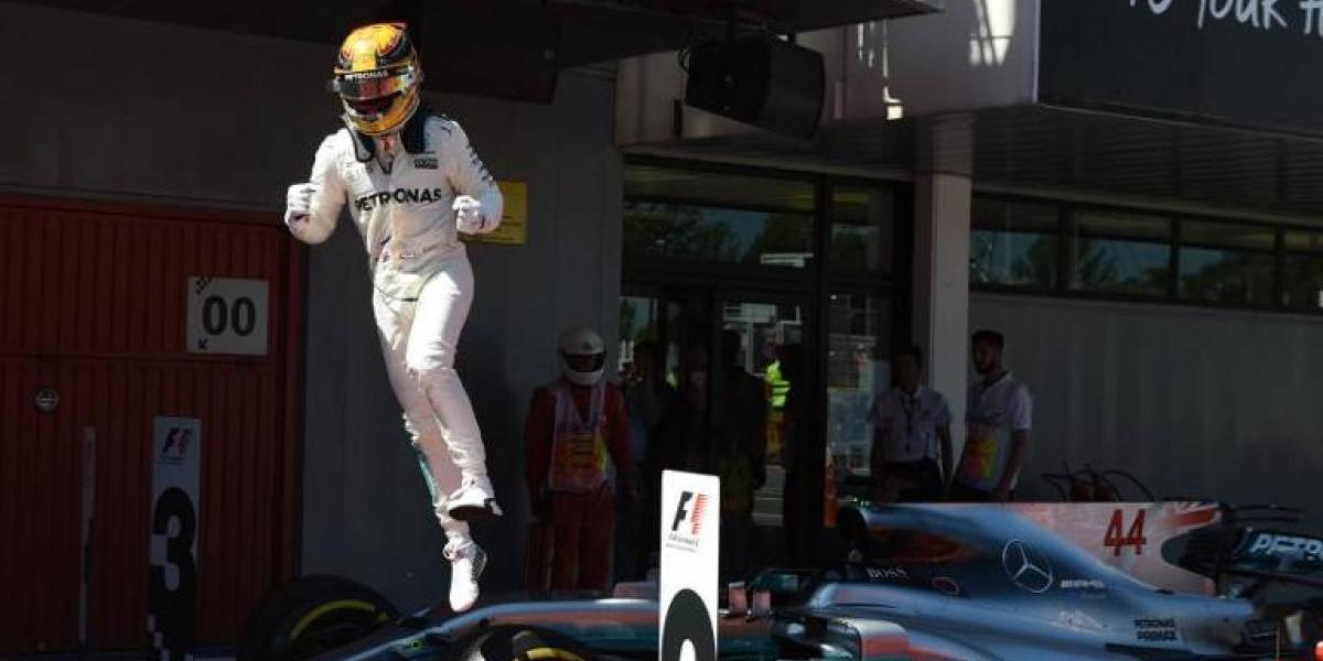 Lewis Hamilton se queda con el Gran Premio de España y enciende la F-1