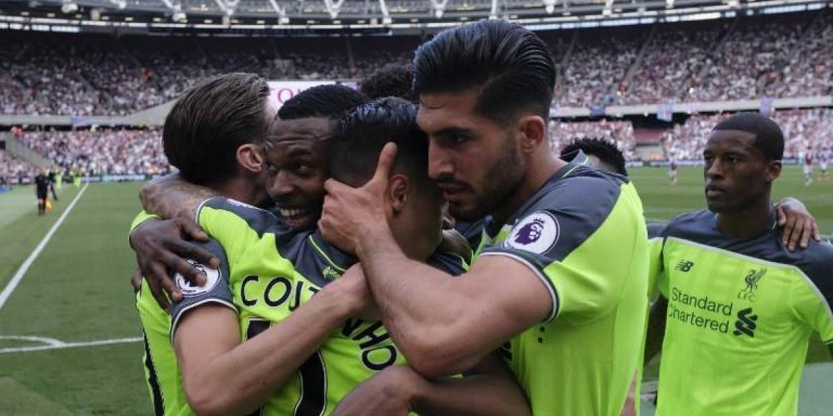 Liverpool golea y complica el sueño de Champions del Arsenal de Alexis