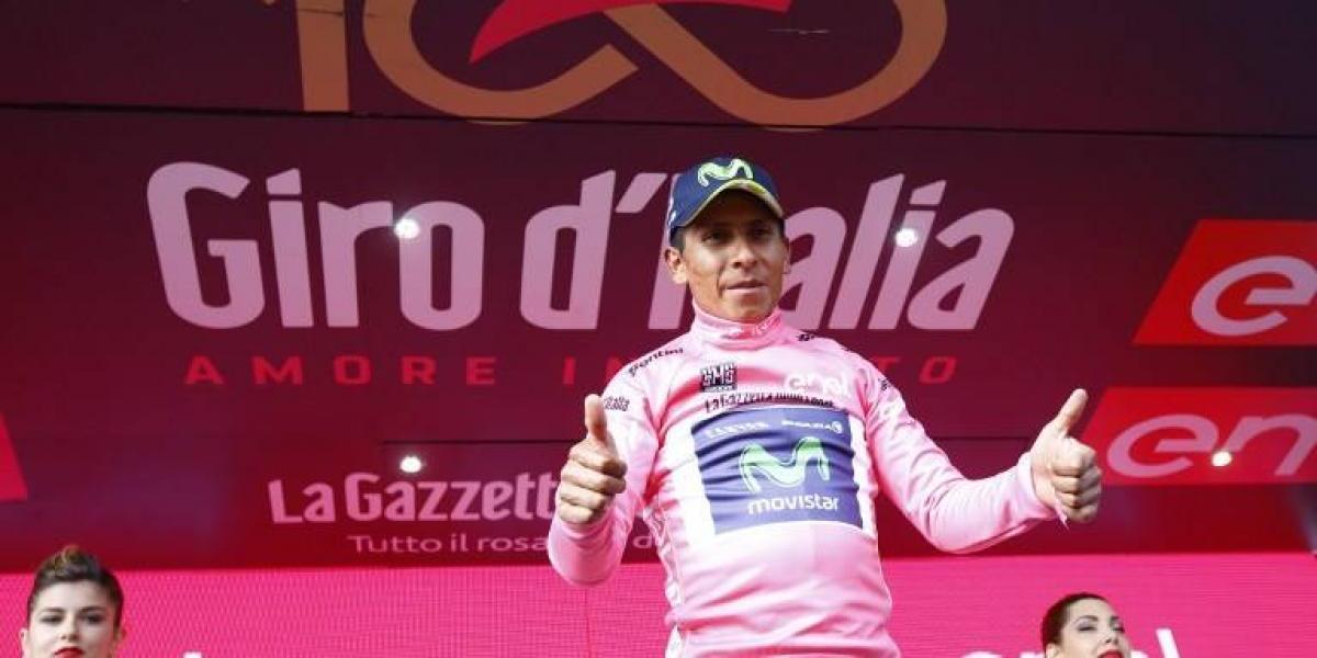 El colombiano Nairo Quintana dio el salto al liderato del Giro de Italia