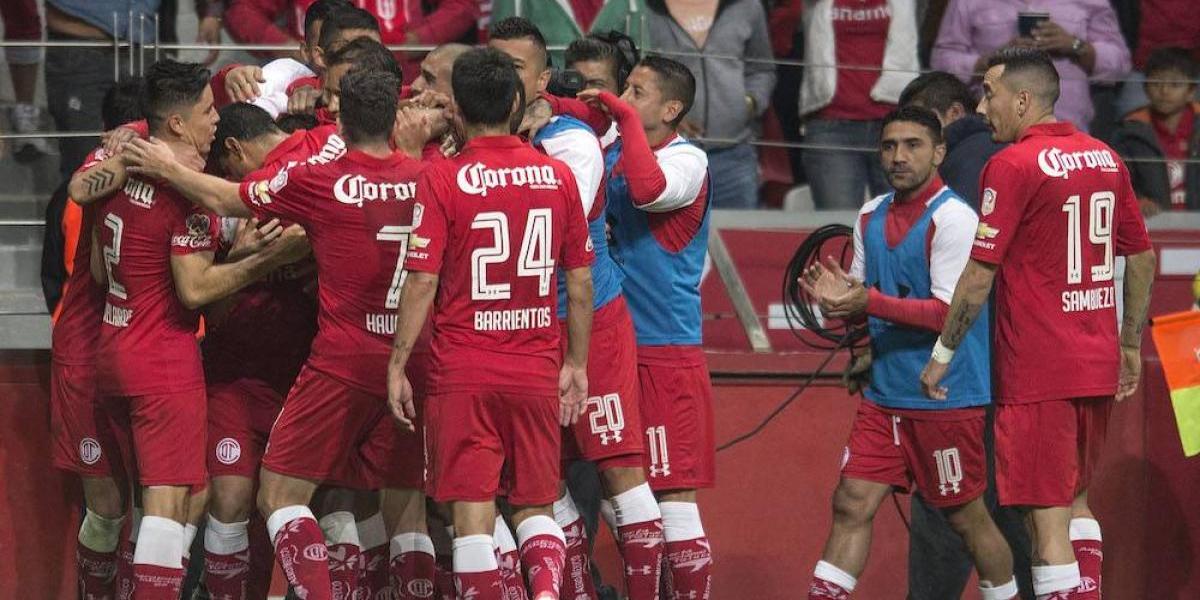 Toluca sufrió pero logró avanzar a las semifinales del Clausura 2017