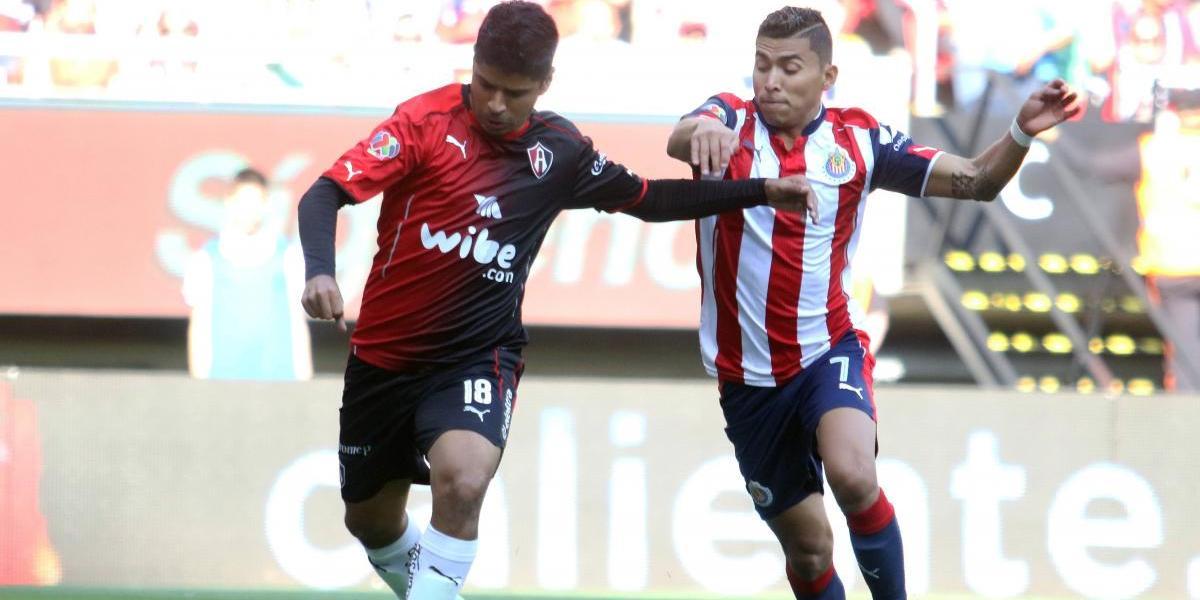 Chivas vence 1-0 al Atlas y avanza a semifinales del Clausura 2017