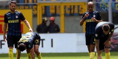 Inter agravó su crisis con su derrota como local