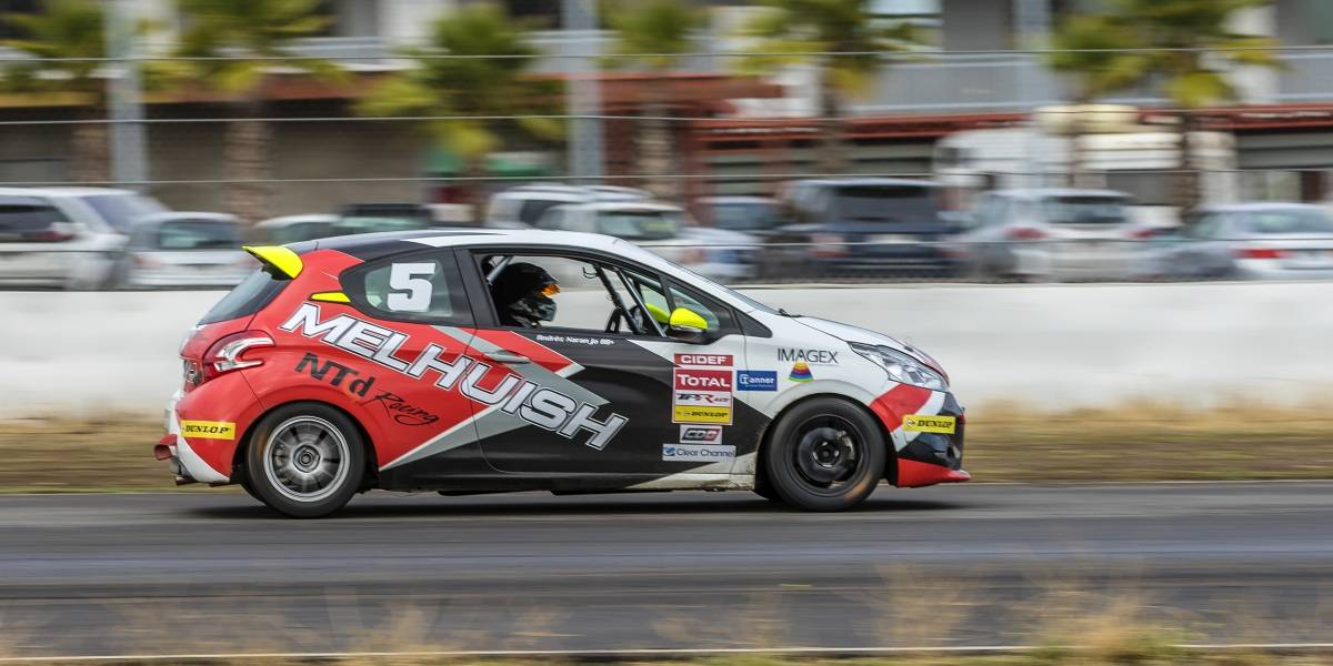 Andrés Naranjo gana la tercera fecha del Total TP Race by Dunlop