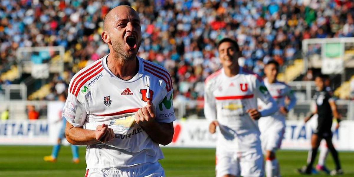 Minuto a minuto: La U goleó a O'Higgins y le robó el liderato del Clausura a Colo Colo