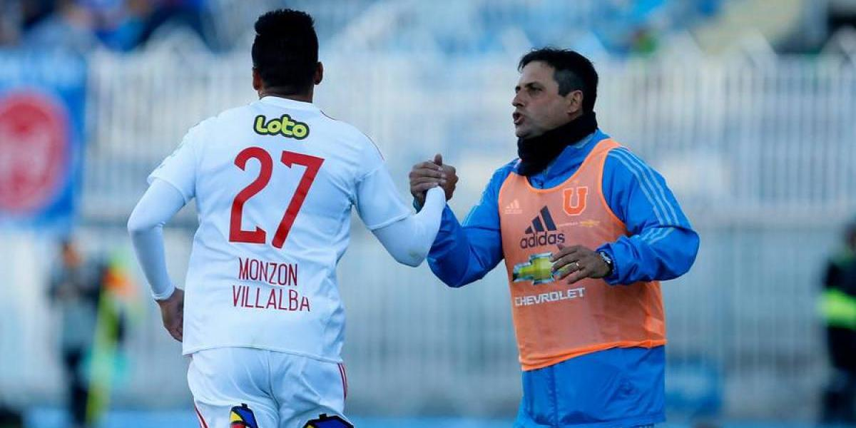 Monzón comandó triunfal llegada de la U a Rancagua y respondió con un golazo