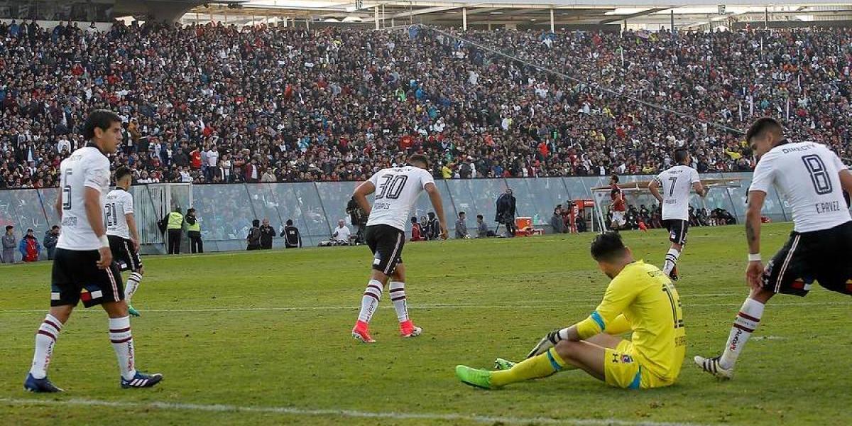 Colo Colo arrugó ante Antofagasta y le dejó a la U el título del Clausura en bandeja