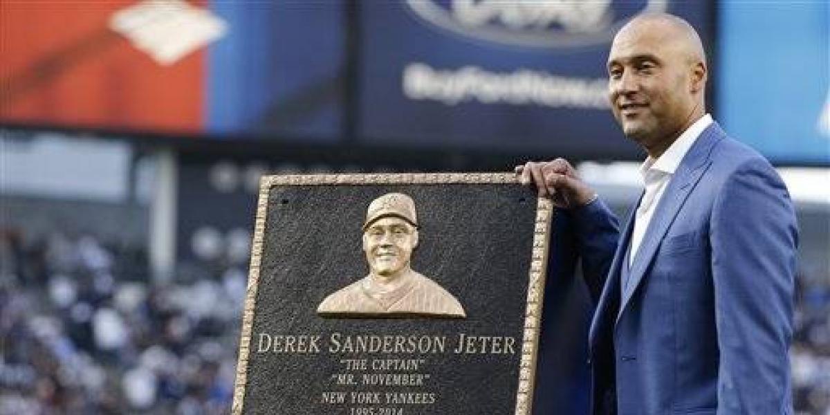 Yankees retiran el número de Derek Jeter