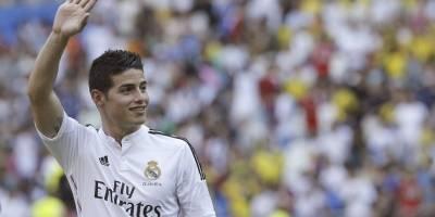 James ya no es del Madrid en Instagram