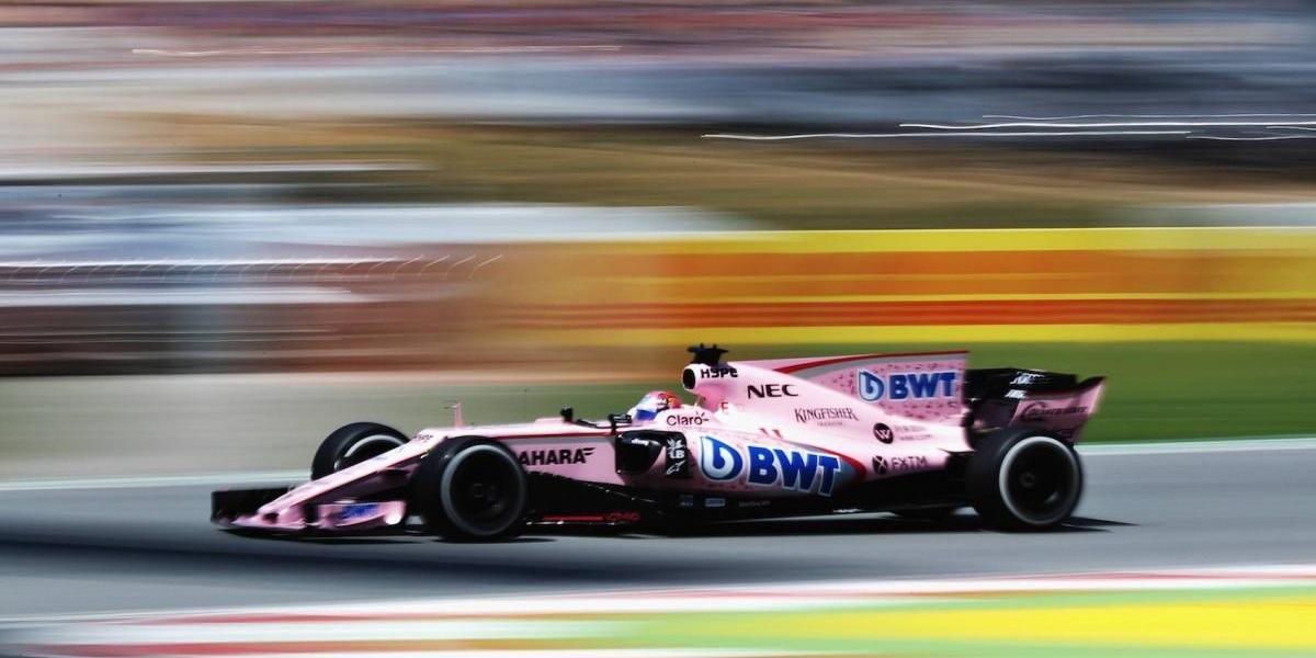 'Checo' Pérez termina en cuarto lugar el GP de España
