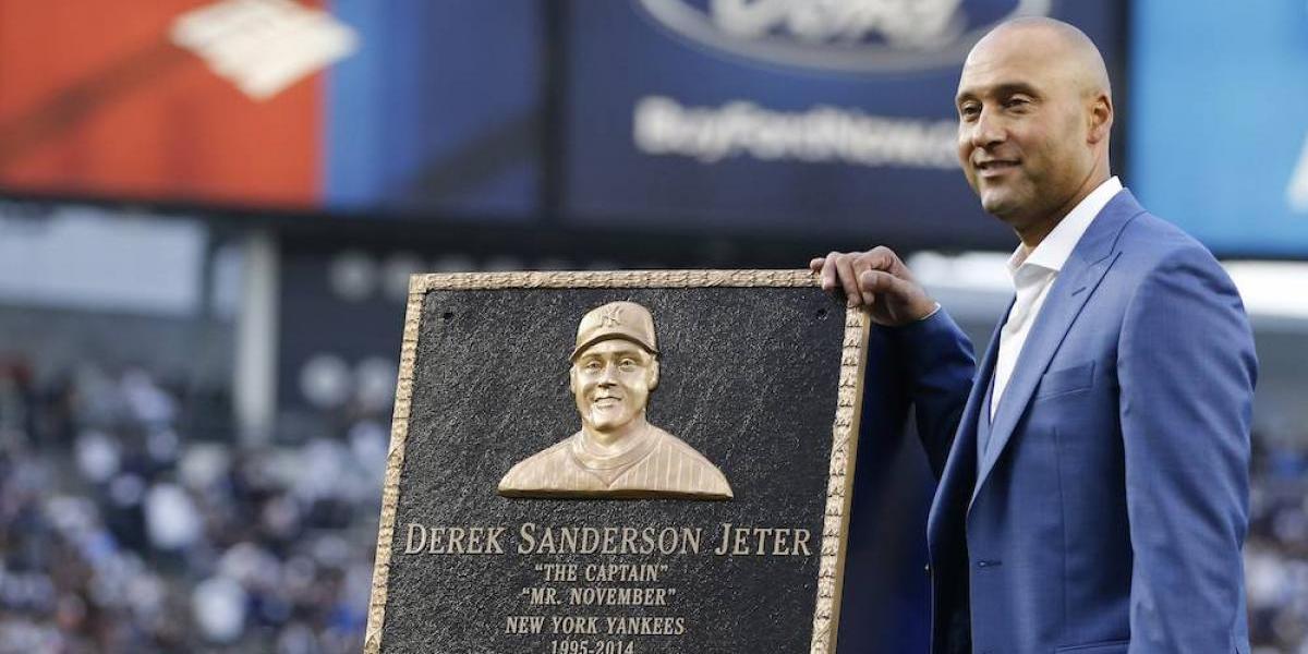 Los Yanquis retiran el número de Derek Jeter