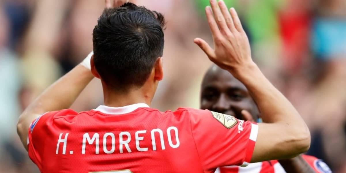 VIDEO: Héctor Moreno marca en la goleada del PSV