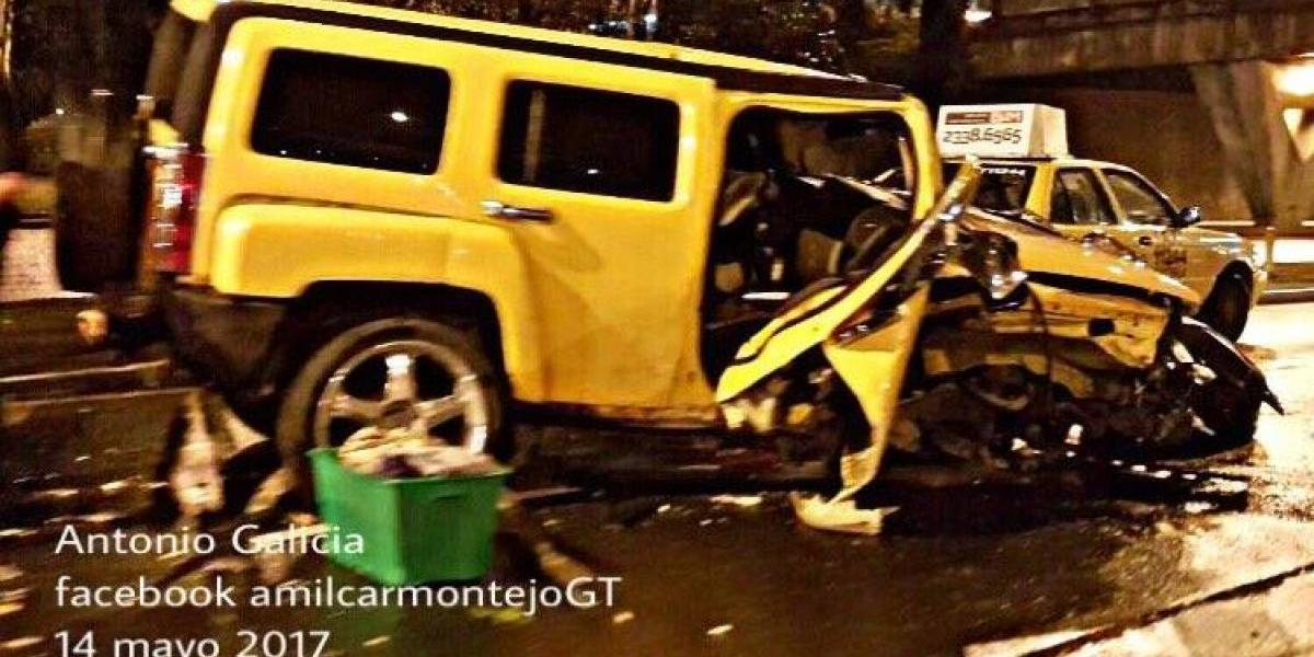 Pilotos se salvan de múltiple accidente