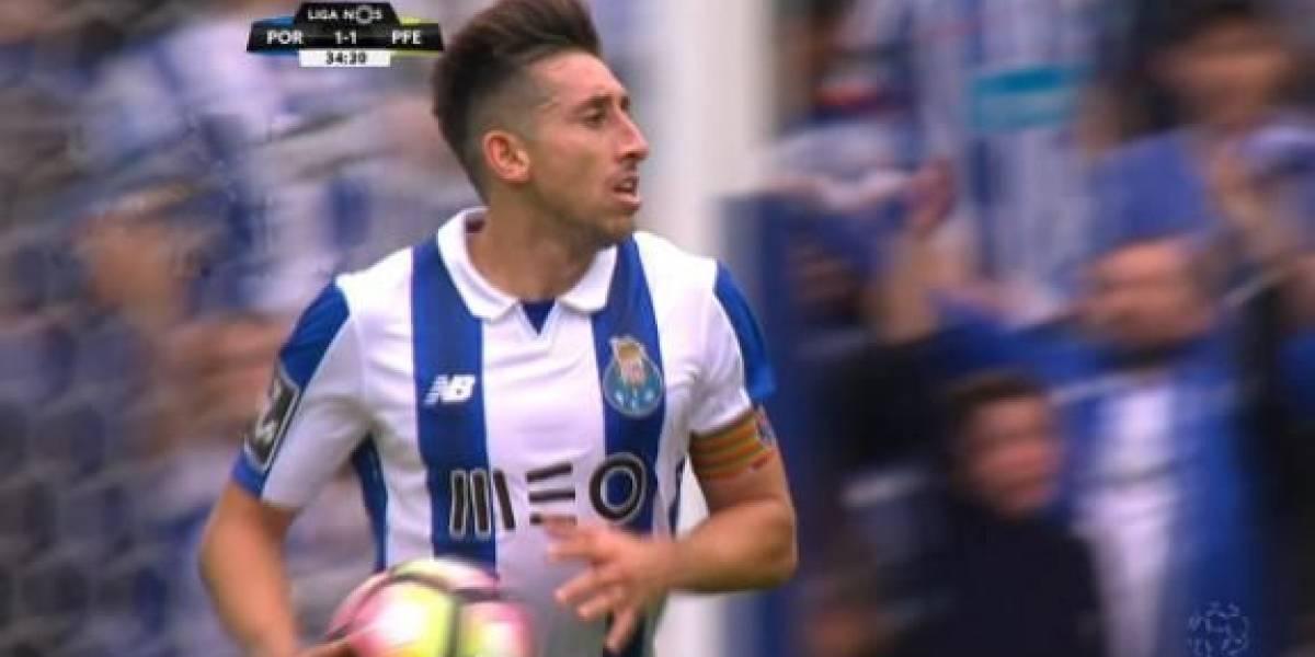 VIDEO: Hérrera anota en la victoria del Porto en Portugal