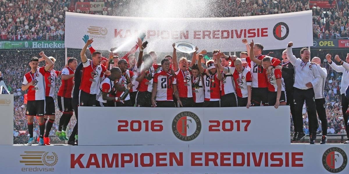 Feyenoord, nuevo campeón del futbol de Holanda