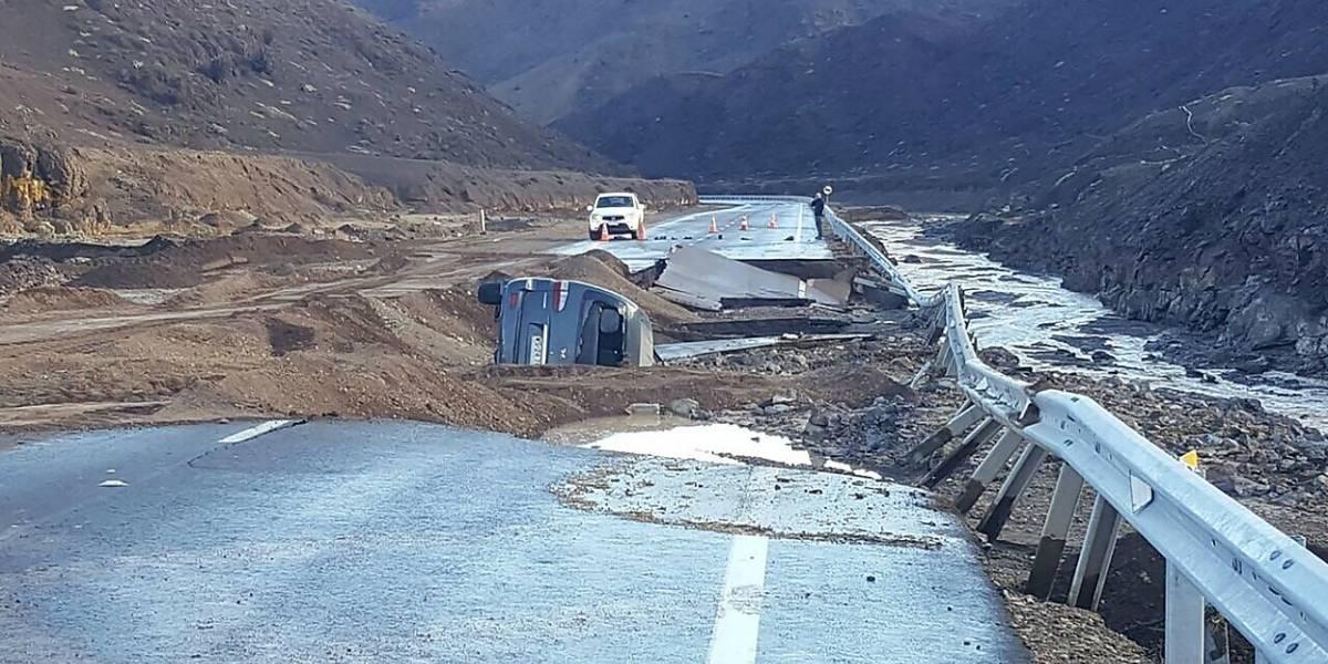 Balance Onemi por emergencia en el norte: 39 mil clientes sin agua y 2.036 damnificados