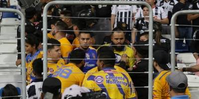 Dos aficionados de Rayados fueron vetados por los hechos de violencia