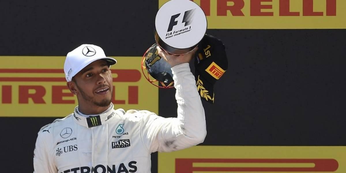 Lewis Hamilton gana Gran Premio de España