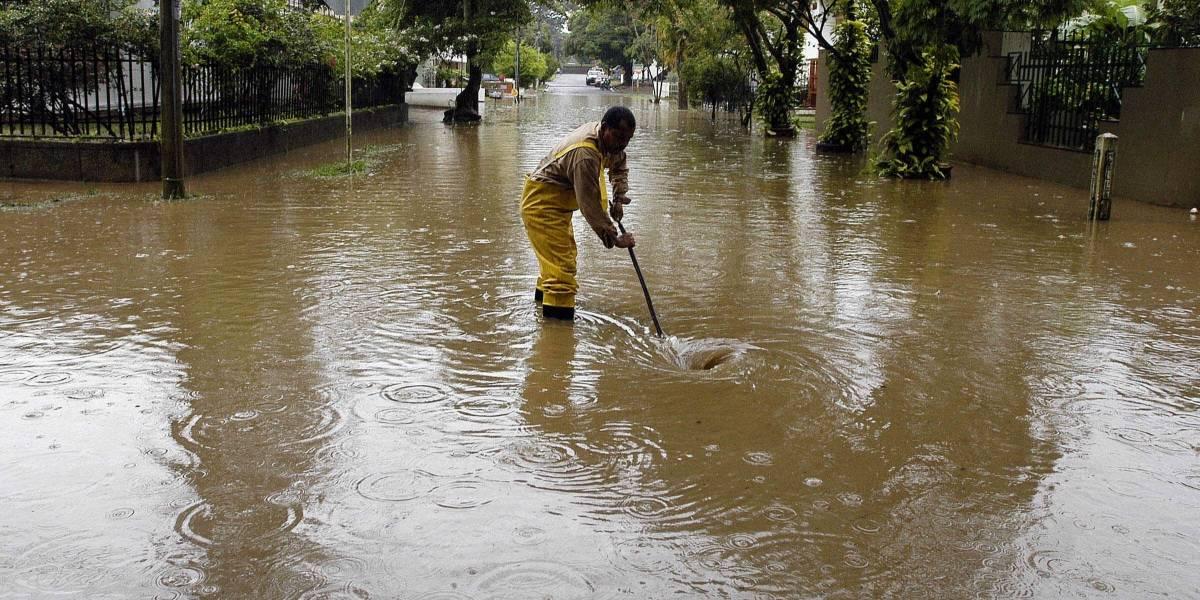 Lluvias han afectado por lo menos unos 12 departamentos en el país