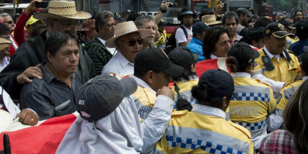 Dos mil 450 policías vigilarán marchas por el Día del Maestro en la CDMX