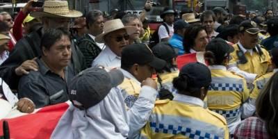 Automovilistas afectados por marcha de maestros en la CDMX
