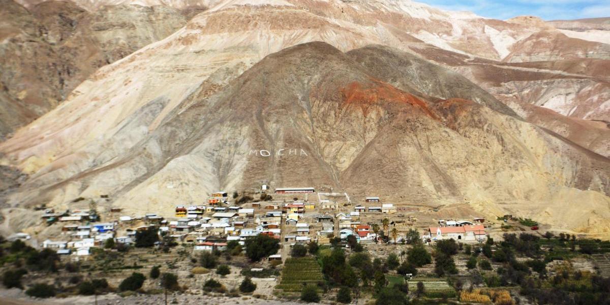 Mocha: un pueblo entre los cerros que ahora se conectó con el mundo