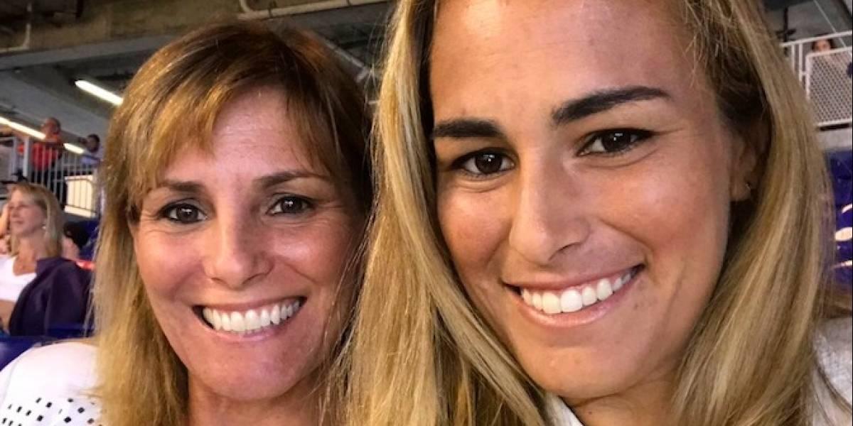 Mónica Puig agradece a su madre por el apoyo