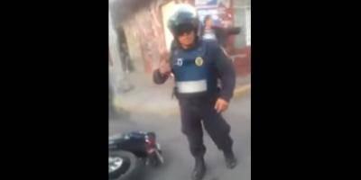 Dispara policía a civiles que intentaban huir en Iztapalapa