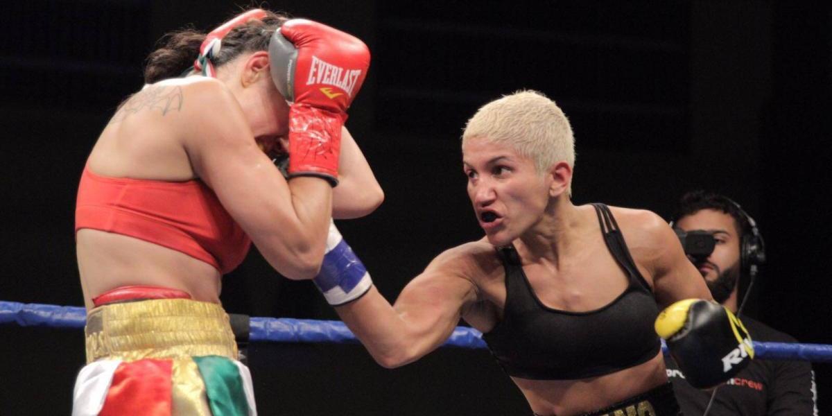 Cindy Serrano defiende con éxito su título mundial
