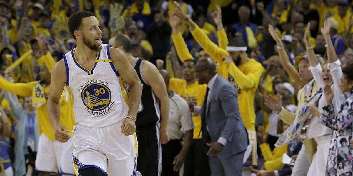 Warriors se imponen en el primer juego de la final de la Conferencia Oeste