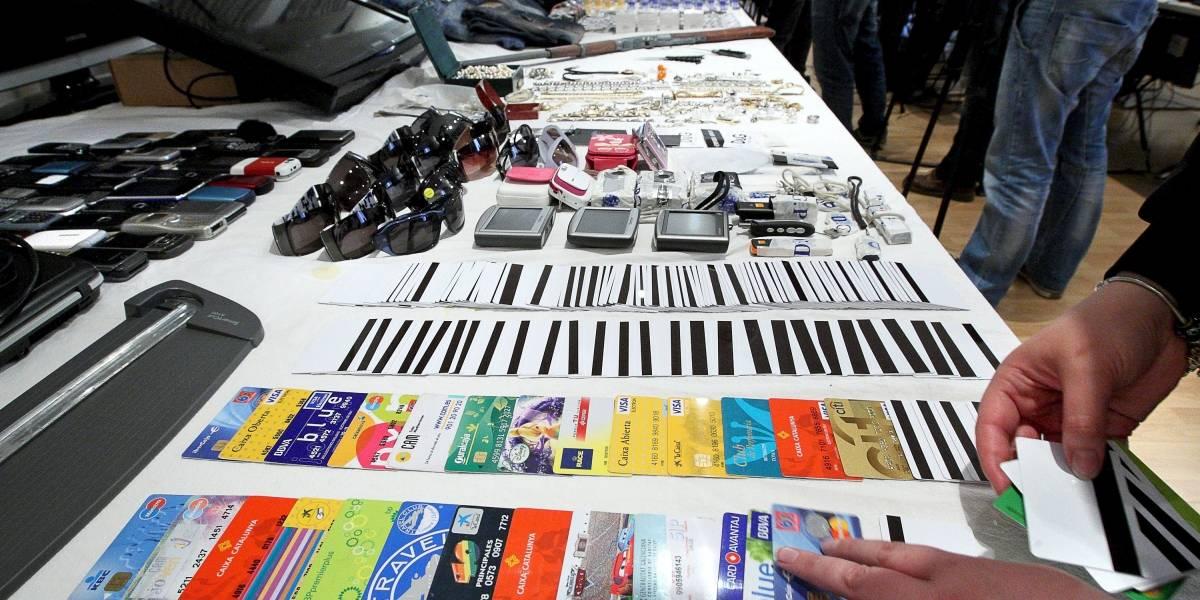 Capturaron la banda que robaba datos de tarjetas de crédito en Bogotá