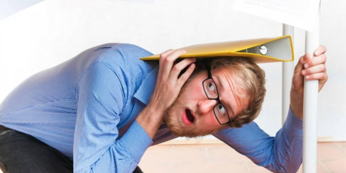 Qué hacer cuando el temblor lo encuentra en la oficina