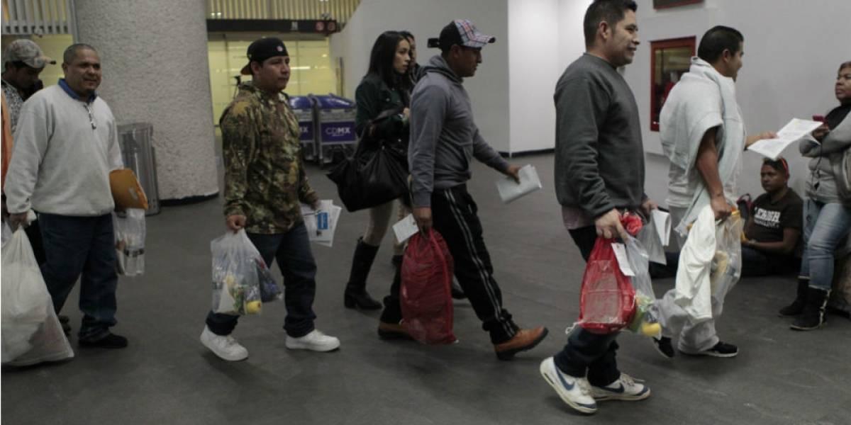 Suman 50 mil deportados con Donald Trump