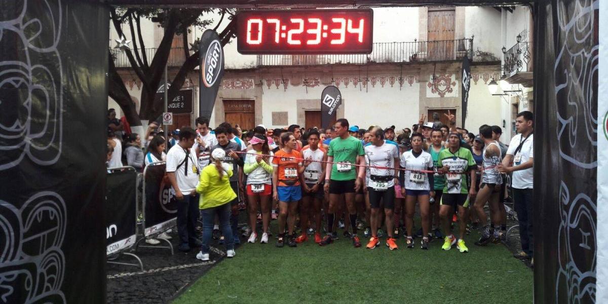 Guerrero celebra segunda carrera Urban Trail Taxco 2017