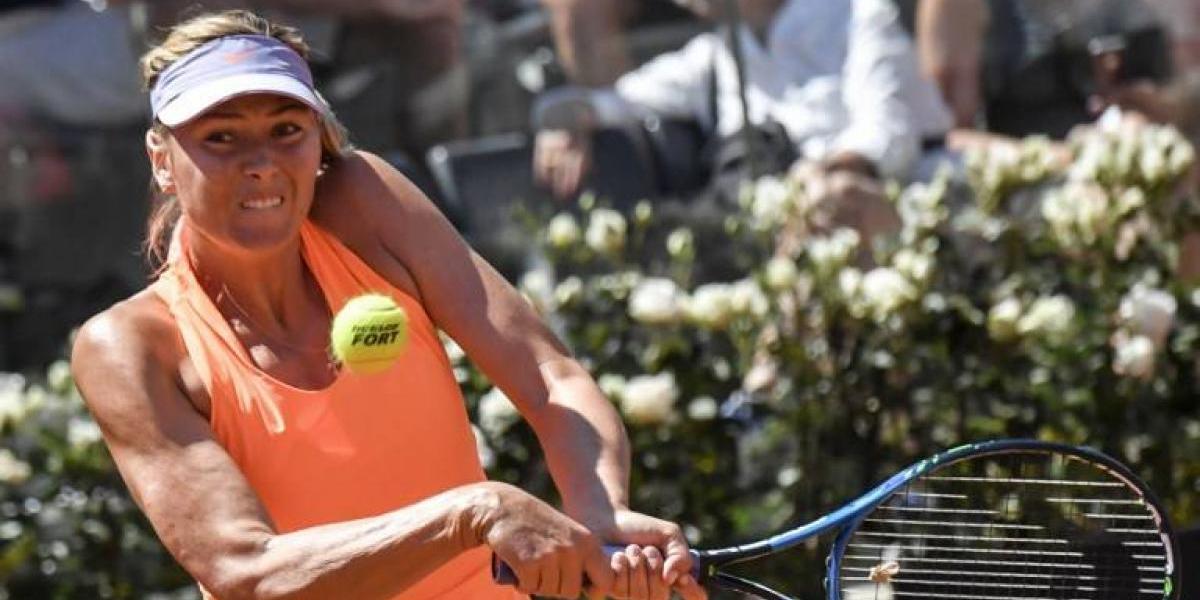 Sharapova debuta con victoria en Roma sobre pupila de Massú