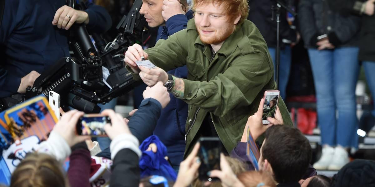 ¡Ed Sheeran ya está en Chile! Así saludó a sus fans