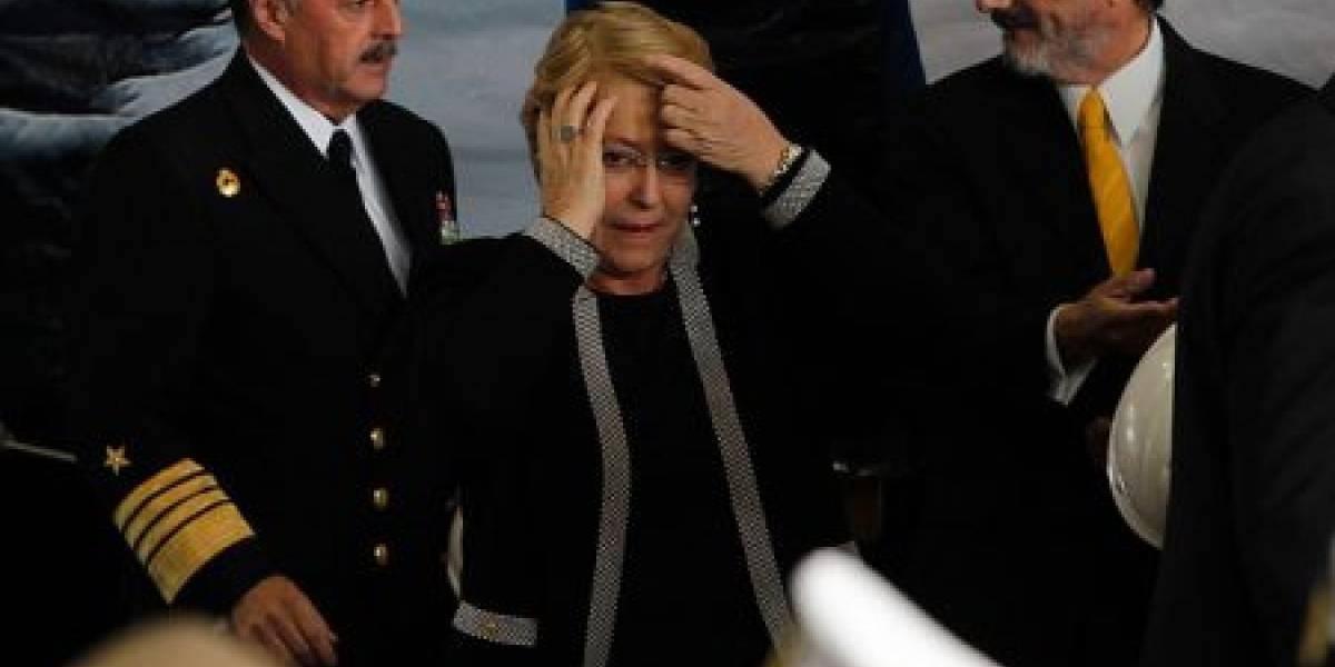 Bachelet fue llevada a zona de seguridad por alarma de incendio en aeropuerto