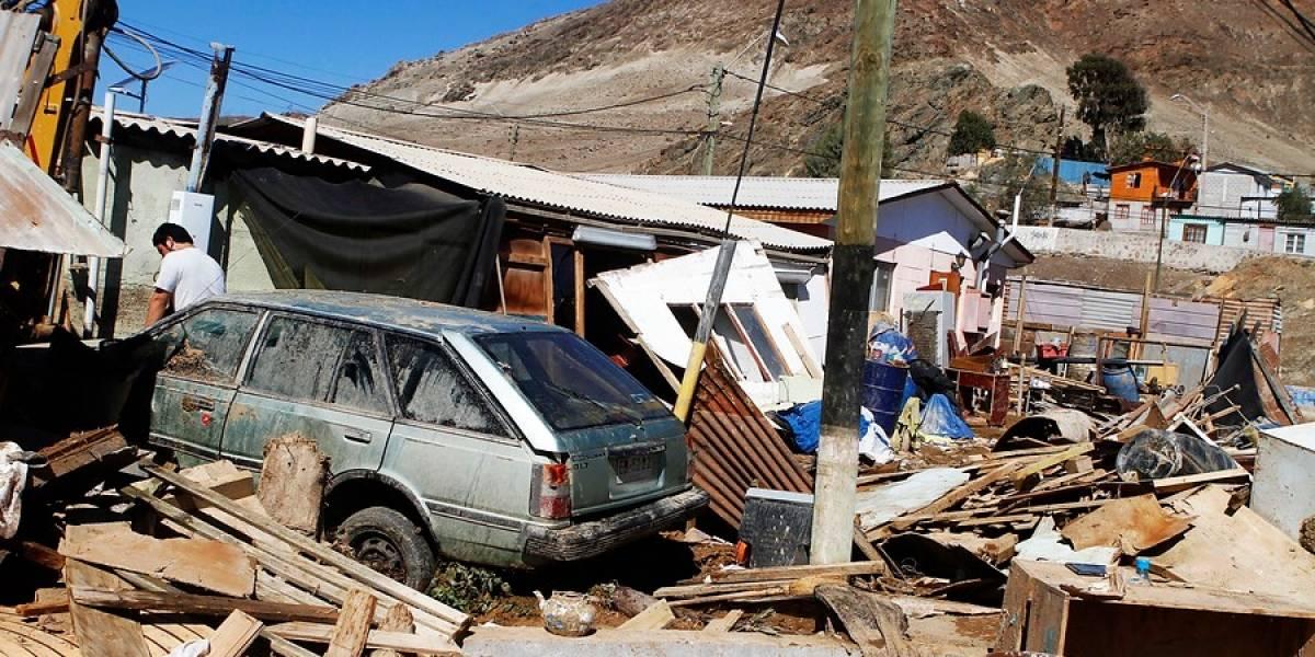 Onemi: sistema frontal deja más de mil damnificados y a 600 personas aisladas