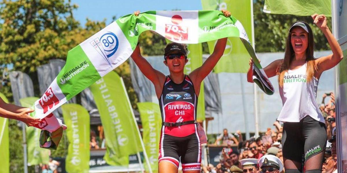 Bárbara Riveros se quedó con el bronce en Nueva Caledonia