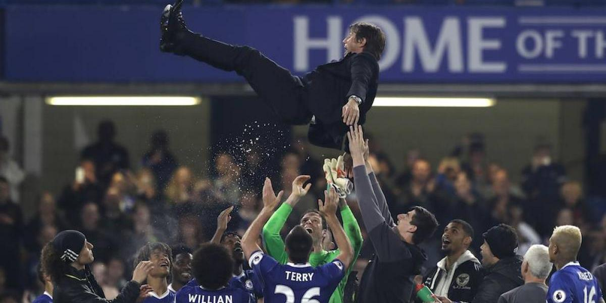 Chelsea celebra su campeonato con triunfo sobre el Watford
